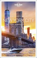 Cover image for Lonely Planet's best of New York City