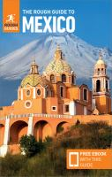 Cover image for The rough guide to Mexico