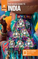 Cover image for The rough guide to India