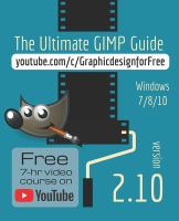 Cover image for The ultimate GIMP 2.10 guide : learn professional photo editing