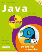 Cover image for Java in easy steps