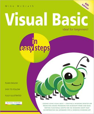Cover image for Visual basic in easy steps