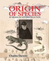 Cover image for On the origin of species : by means of natural selection