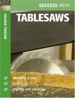 Cover image for Success with tablesaws