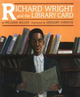 Cover image for Richard Wright and the library card