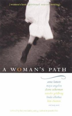 Cover image for A woman's path : women's best spiritual travel writing