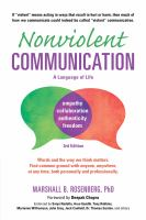 Cover image for Nonviolent communication : a language of life
