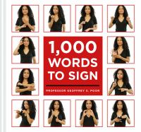 Cover image for 1,000 words to sign