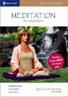 Cover image for Meditation for beginners