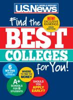 Cover image for Best colleges