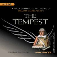Cover image for William Shakespeare's The tempest.