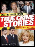 Cover image for True crime stories : cases that shocked America