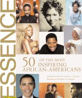 Cover image for 50 of the most inspiring African-Americans