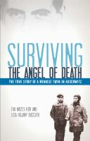 Cover image for Surviving the angel of death : the story of a Mengele twin in Auschwitz