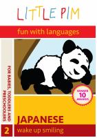 Cover image for Little Pim, fun with languages, Japanese. 2, Wake up smiling
