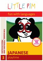 Cover image for Little Pim, fun with languages, Japanese. 3, Playtime
