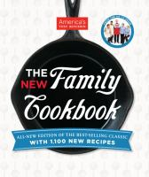 Cover image for The new family cook book : all-new edition of the best-selling classic with 1,100 new recipes