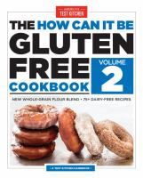 Cover image for The how can it be gluten free cookbook. Volume 2
