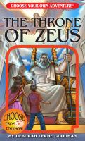 Cover image for The throne of Zeus