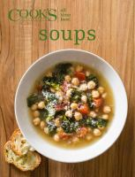 Cover image for Cooks illustrated all time best soups
