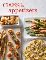 Cover image for Cook's illustrated all-time best appetizers
