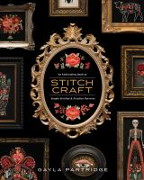 Cover image for An embroidery book of stitch craft : simple stitches & peculiar patterns