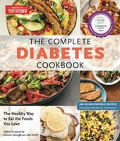 Cover image for The complete diabetes cookbook : the healthy way to eat the foods you love