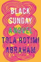 Cover image for Black Sunday : a novel
