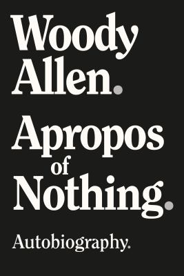 Cover image for Apropos of nothing