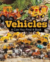 Cover image for Vehicles : a can-you-find-it book