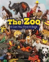 Cover image for The zoo : a can-you-find-it book