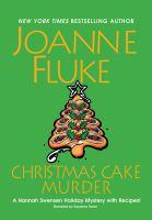 Cover image for Christmas cake murder