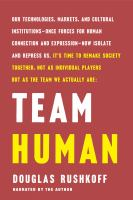 Cover image for Team human