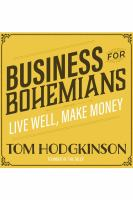 Cover image for Business for Bohemians : live well, make money