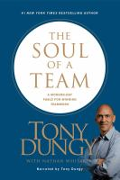 Cover image for The soul of a team a modern-day fable for winning teamwork