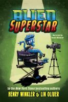 Cover image for Alien superstar