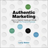 Cover image for Authentic marketing : how to capture hearts and minds through the power of purpose