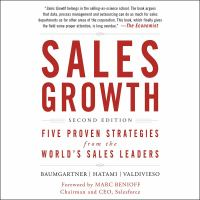 Cover image for Sales growth : five proven strategies from the world's sales leaders