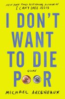 Cover image for I don't want to die poor : essays