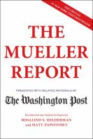 Cover image for The Mueller report