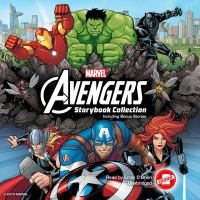 Cover image for Marvel Avengers storybook collection.