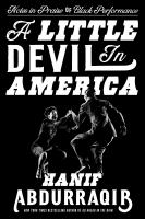 Cover image for A little devil in America : notes in praise of black performance