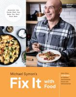 Cover image for Fix it with food : more than 125 recipes to address autoimmune issues and inflammation