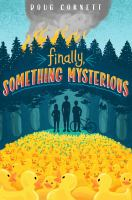 Cover image for Finally, something mysterious