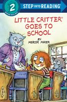 Cover image for Little Critter goes to school