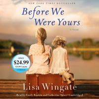 Cover image for Before we were yours