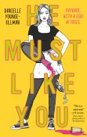 Cover image for He must like you