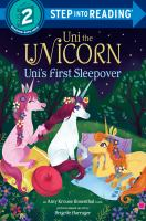 Cover image for Uni's first sleepover