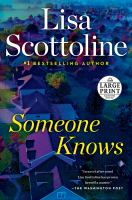 Cover image for Someone knows