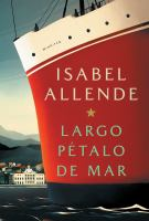 Cover image for Largo pétalo de mar